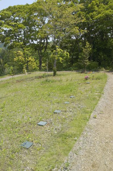 樹木葬墓苑の様子1